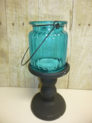 8de3deb118 Found these cast plaster candle pedestals at Dollar Tree a couple of weeks  ago. I only bought 2 black ones